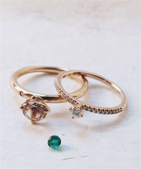 Not So Tiny Sparkle (choose yellow, white or rose gold