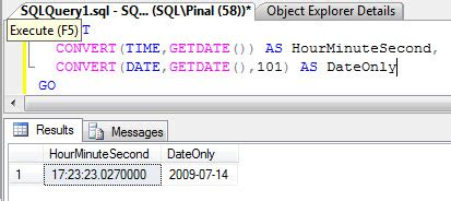 SQL SERVER - Get Time in Hour:Minute Format from a
