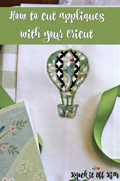 How to easily make your favorite appliques with a Cricut