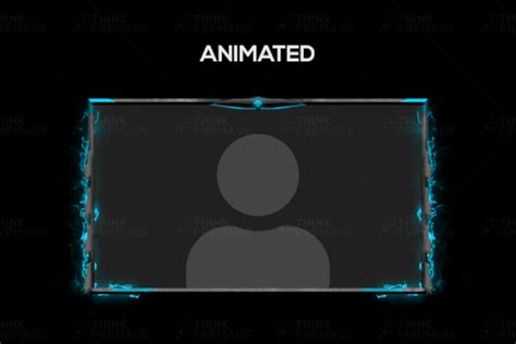 Animated Twitch Overlay - Creed Webcam - Think Premade