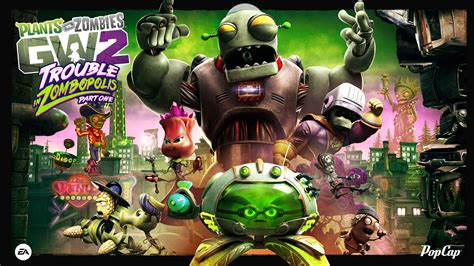 Garden Warfare 2 has a new map and characters