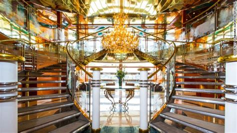 Inside London's $67M superyacht hotel (engine not included