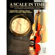 A Scale In Time - Violin