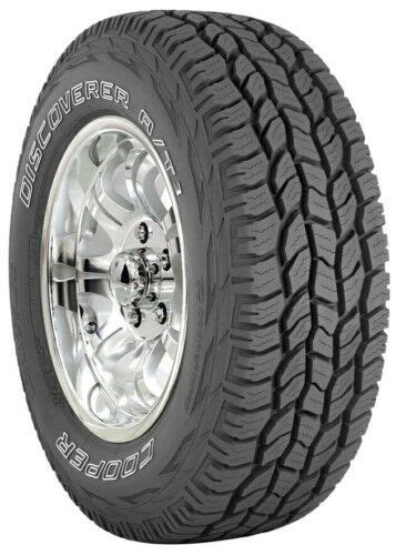 4 NEW 265/75-16 Cooper DISCOVERER AT3 55K 6PLY TIRES 75R16
