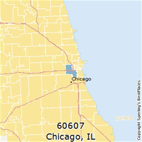 Best Places to Live in Chicago (zip 60607), Illinois