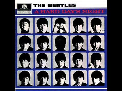 The Beatles - A Hard Day's Night - YouTube