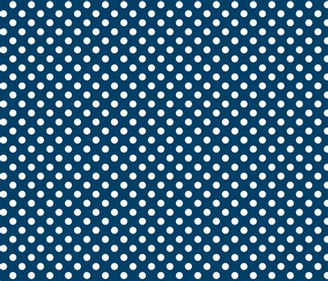 polka dots 2 navy blue and white - misstiina - Spoonflower