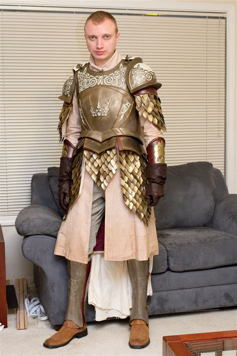 Dyeing Fabric for Game of Thrones Kingsguard Armor