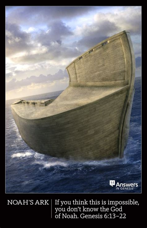 Noah's Ark Poster (Poster) | Answers in Genesis