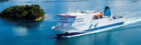 Cook Strait Ferry Crossing Information | New Zealand