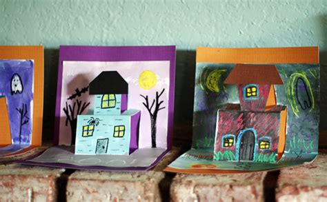 Spooky House Pop-Up Cards | Fun Family Crafts