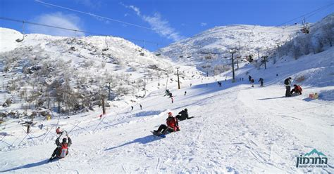 Here's What Israel's Only Ski Resort Looks Like