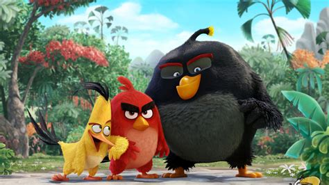 Wallpaper Chuck, Red, Bomb, Angry Birds, 4K, Movies, #226