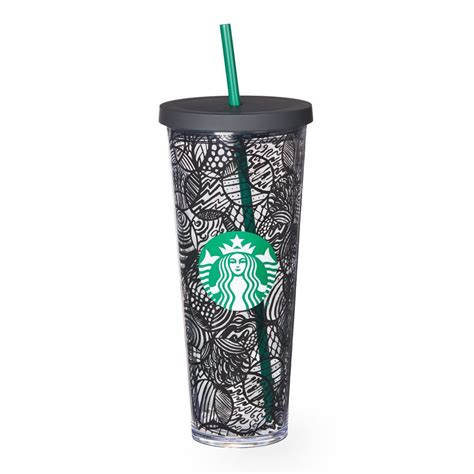 A sturdy, Venti-size clear plastic Cold Cup with double