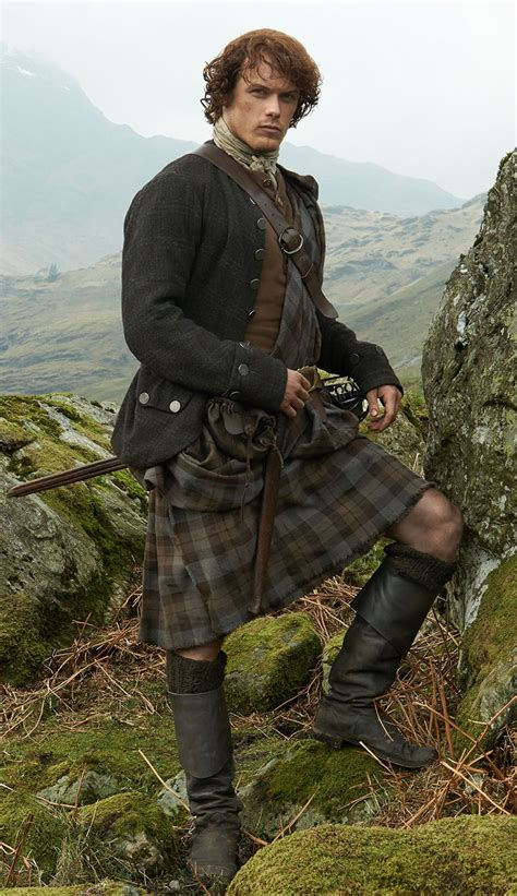 OUTLANDER Great Kilt Made in the Official OUTLANDER