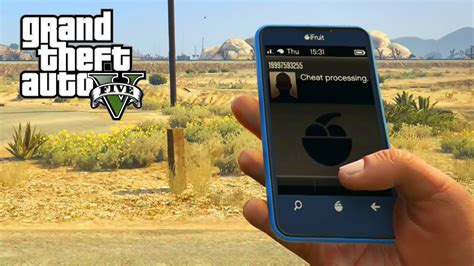GTA 5 - Cell Phone Cheat Codes For PS4 & Xbox One (GTA V
