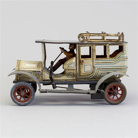 a limousine probably by Hans Eberl Germany ca 1910