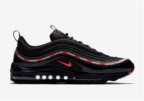 Undefeated Nike Air Max 97 Black Official Images AJ1986