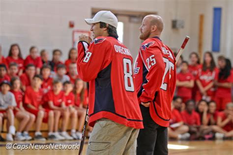 CAPITALS NEWS NETWORK: Off The Ice: Photos: Caps Visit St