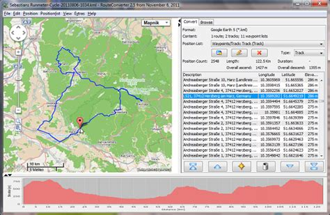 RouteConverter Download | Shareware