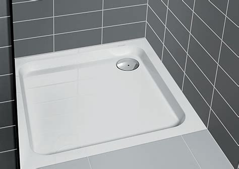 Shower trays: brand quality from Villeroy & Boch