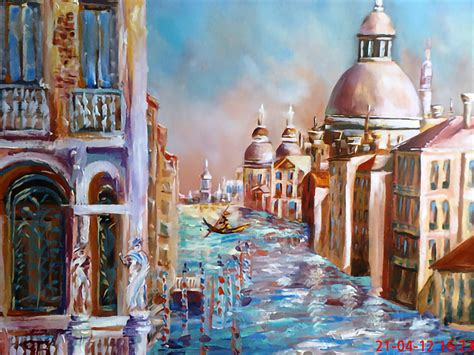 George Budai: Color-Saturated Oil Landscape Paintings
