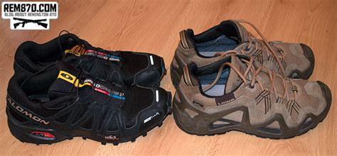 Best Shoes for Practical Shooting (IPSC)