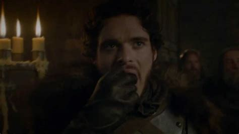 Game of Thrones (S03E09) - Robb Stark begs forgiveness to