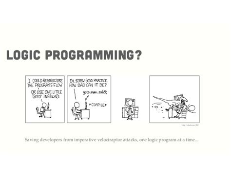Logic programming a ruby perspective