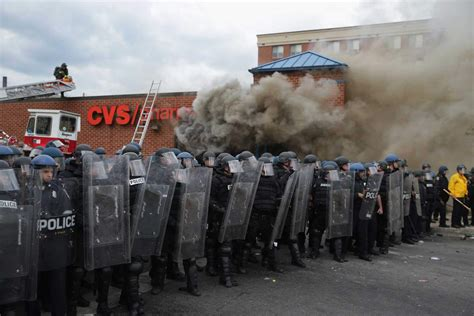 Security Guard Arrested During Baltimore Riots for