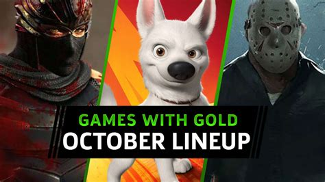 Free Xbox One And Xbox 360 Games With Gold For October