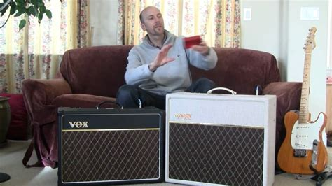 Vox AC15C1 and AC15HW1 comparison - YouTube