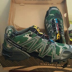 Salomon Shoes | Brand New Speedcross 3 Digital Camo | Poshmark