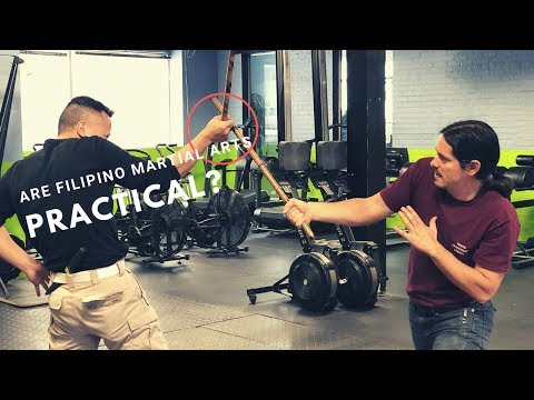 How to make an Eskrima stick fighting training dummy part