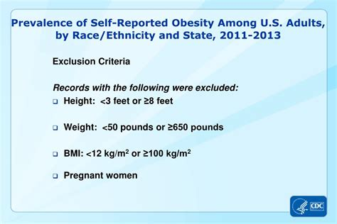 PPT - Prevalence of Self-Reported Obesity Among U