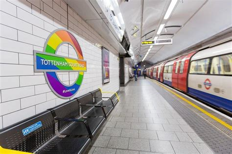 Pride 2017: London tube and bus stops decorated with