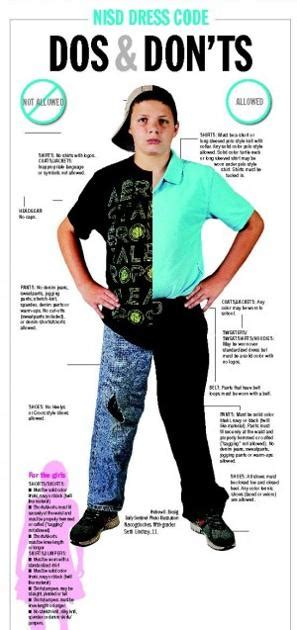 Dress code dos and don'ts     dailysentinel