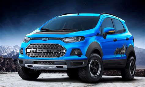 Ford EcoSport Beauty, The Beast and Storm concepts head to
