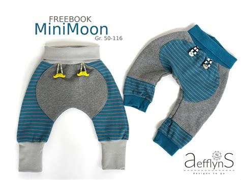 Mini Moon freebook Pumphose | Pumphose baby schnittmuster