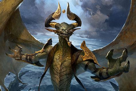 In Magic's new Core Set 2019, a good dragon is hard to