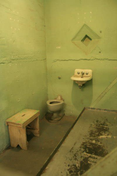 A death row prison cell