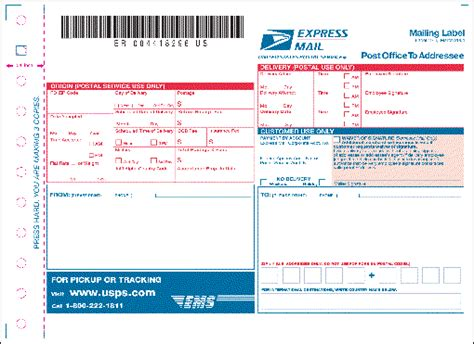 Domestic Mail (Continued)