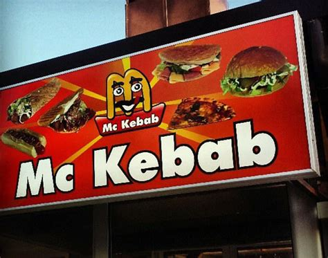 Rip-off fast food signs from around the world | Daily Mail