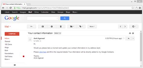 How to Keep your Google Contacts Up-to-date with Google
