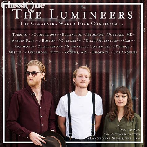 Lumineers - Hire & Book For Parties & Events - Classique