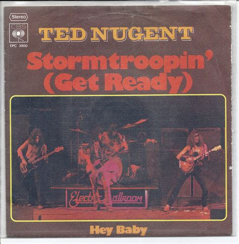 Ted Nugent - Stormtroopin` (Get Ready) (1976, Vinyl) | Discogs