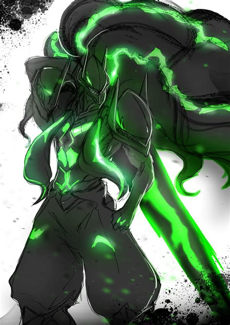 Susanoo by 綠色毛囊 | BlazBlue | Know Your Meme