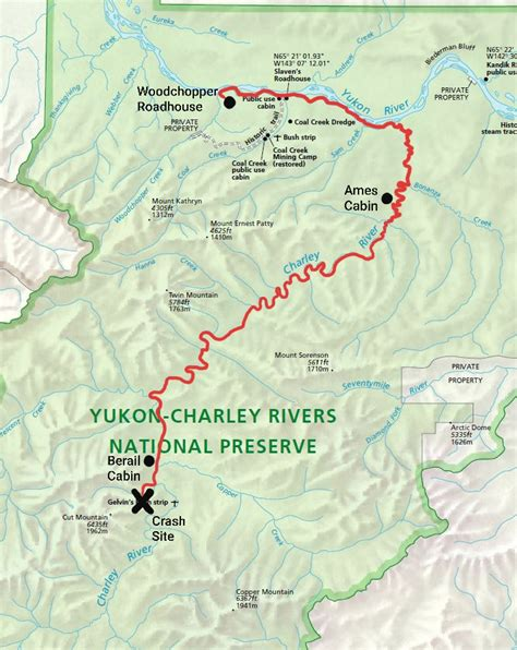 A WW II Survival story from the Charley River - Yukon