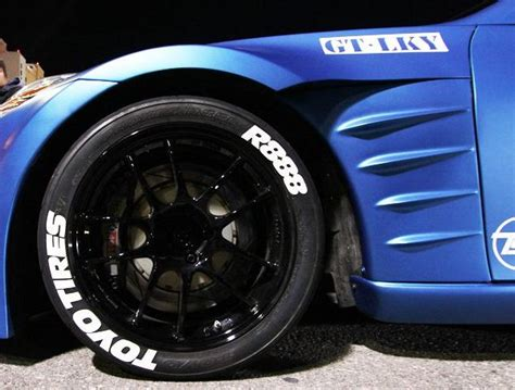 TOYO TIRES R888   TIRE STICKERS